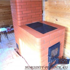 Варочная печь с тепловым щитом