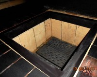 каменка в бане по черному
