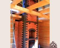 Банная печь с варочной поверхностью