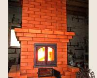 Теплоемкий камин